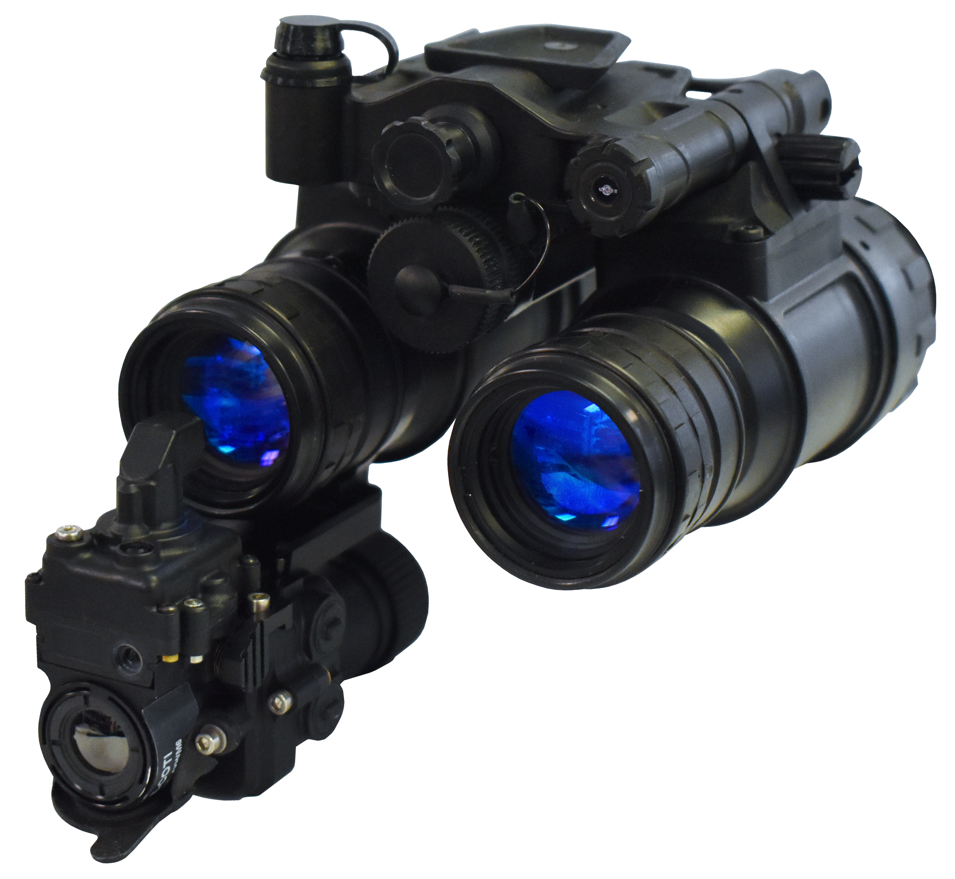 SBNVG Goggle with thermal weapon clip