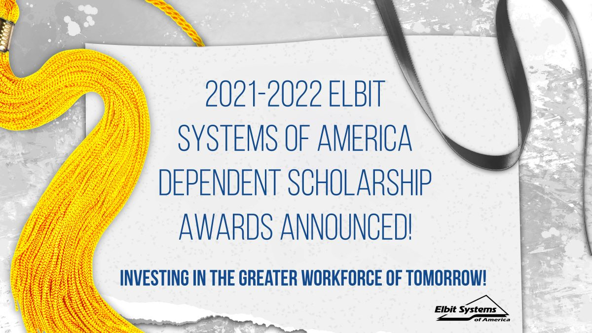 Elbit Systems of America awards more than $100K in college scholarships to employee dependents