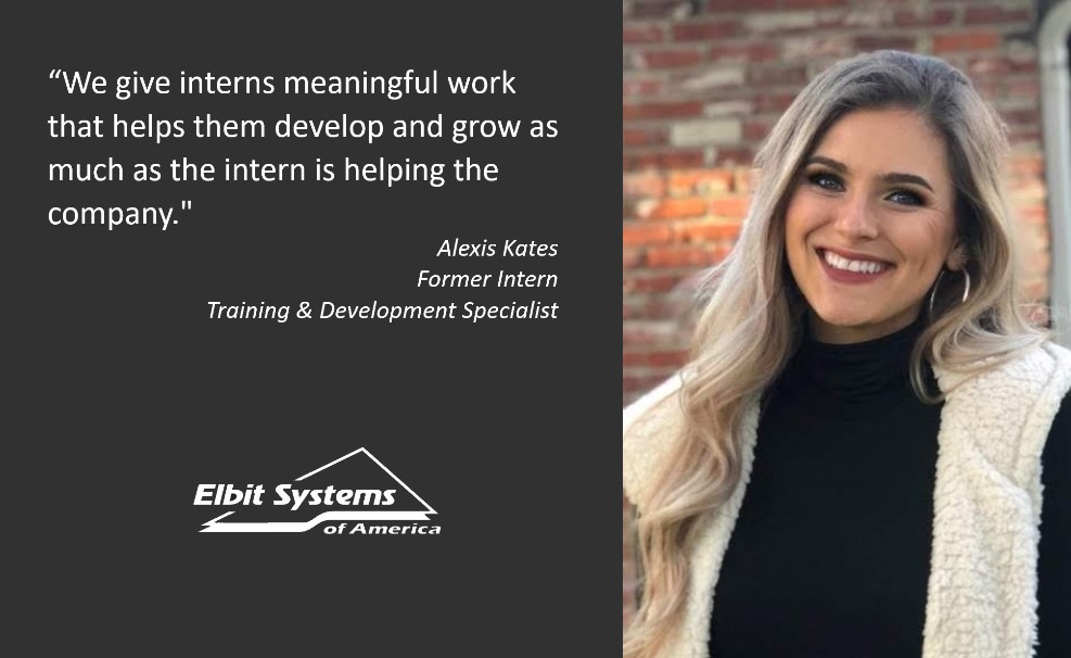 Celebrating interns at Elbit Systems of America